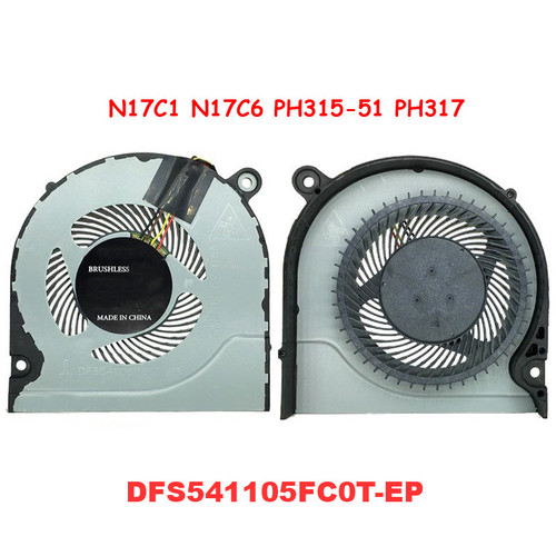 Laptop A Pair FAN For ACER For Nitro5 AN515 AN515-51 AN515-52 AN515-41 A715 A715-71