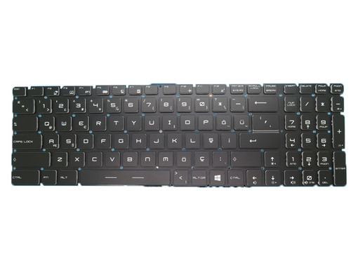 Laptop Crystal Keycap Backlit Keyboard For MSI GE72VR 6RF GP72VR 6RF GS63VR 6RF 7RF GT73EVR 6RE 6RF 7RD 7RE 7RF PX60 2QD Turkey TR