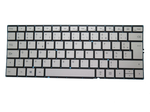 Dock Keyboard For Microsoft Surface Book 2 15'' 1793 1813 Silver France FR
