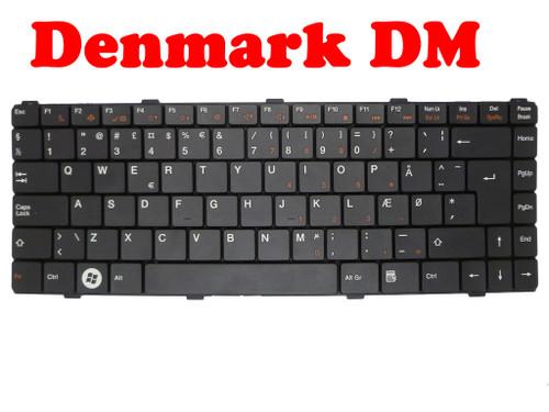 Laptop Keyboard For ASUS Z96 Z96F Z96Fm Z96H Z96Hm Z96J Z96Jm Z96Jp Z96JS Z96S Z96Sp S96F S96H Denmark DM Black SG-36001-2KA PK130CJ2A15