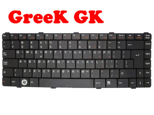 Laptop Keyboard For ASUS Z96 Z96F Z96Fm Z96H Z96Hm Z96J Z96Jm Z96Jp Z96JS Z96S Z96Sp S96F S96H GK Greek Black SG-36000-22A PK130CJ2A17