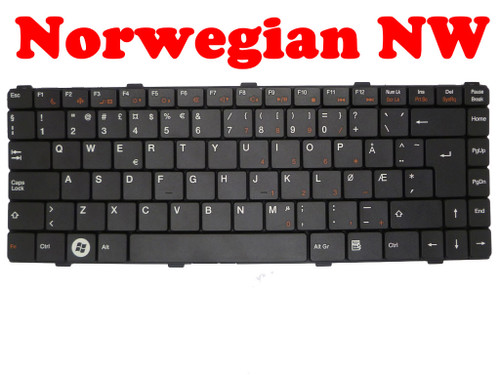Laptop Keyboard For ASUS Z96 Z96F Z96Fm Z96H Z96Hm Z96J Z96Jm Z96Jp Z96JS Z96S Z96Sp S96F S96H Norway NW Black SG-36000-2NA PK130CJ2A14