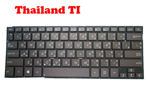 Laptop Keyboard For ASUS BX42 BX42A BX42LA BX42LN BX42VD BX42VS Brown Without Frame Thailand TI No Backlit Film