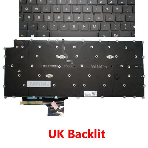 Laptop Backlit Keyboard For LG 13Z980 13Z980-B 13Z980-G 13Z980-M 13Z980-T 13Z980-GA56J 13Z980-GA5CJ 13Z980-GR55J 13Z980-GR56J 13Z980-MR33J United Kingdom UK NO Frame