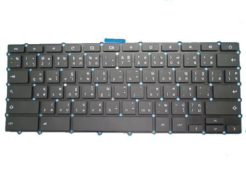 Laptop Keyboard For Haier CHROMEBOOK11EHR-116E11HR-116RWBM14L16T0-732 580000020503 Thailand TI Black