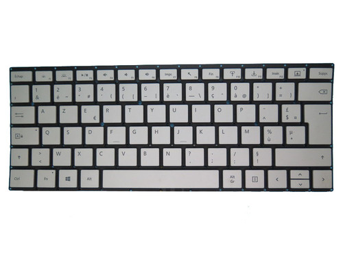 Dock Keyboard For Microsoft surface book 1 1703 1704 1705 1785 Silver France FR