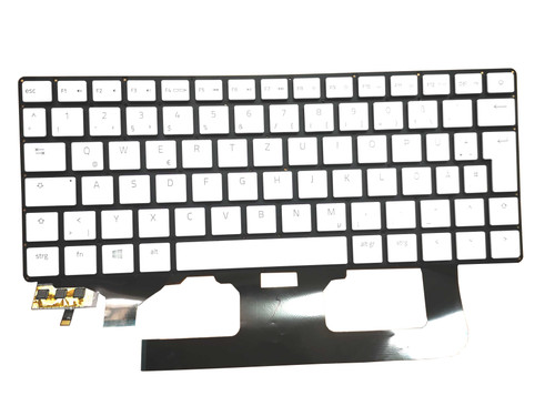 Laptop Keyboard For RAZER Blade RZ09 12739674-00 2H-BBYGMR51011 German GR White Without Frame