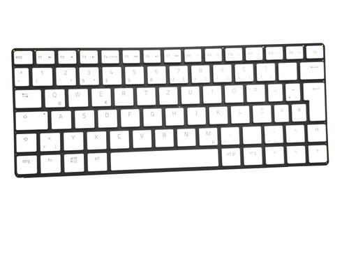 Laptop Keyboard For RAZER Blade RZ09-0281 RZ09-0281x German GR White Without Frame