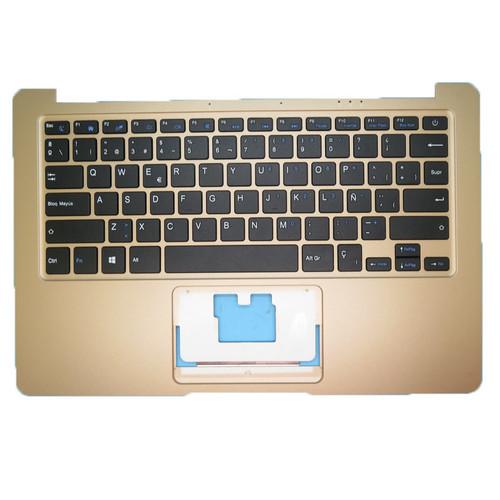Laptop Gold PalmRest& SP Keyboard For Multilaser PC205 ml-cn01 PC206 PC207 PC205 ML-CN01 Spanish SP NO Touchpad