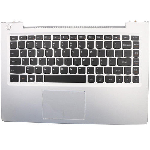 Laptop PalmRest&keyboard For Lenovo U330P U330 Touch U330T English US 90203569 With Touchpad Speaker NO Backlit Silver New