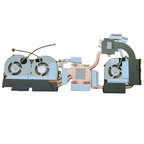 Laptop CPU GPU Fan Heatsink For CLEVO P960EN P960RD P960RN P960RF P970 P970RC P970RD P970RF P970EN P970RN P970ED P970EF