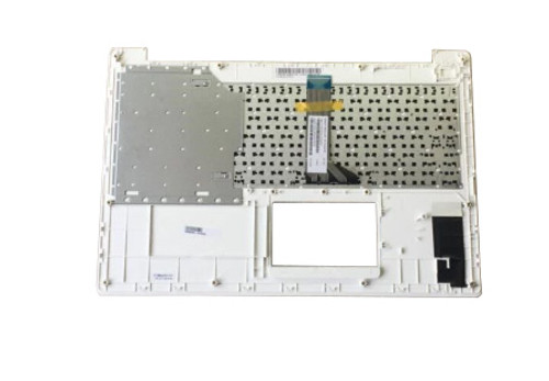 Laptop PalmRest&keyboard For ASUS X553MA X553SA A553MA A553SA F553MA F553SA K553MA K553SA D553MA D553SA 90NB04X2-R31SK0 White Top case With Black Slovakian SK keyboard