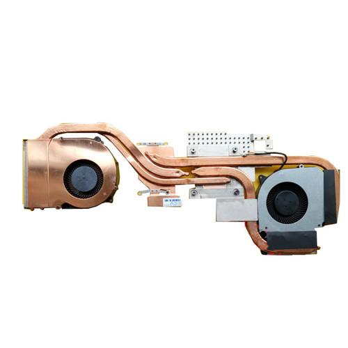 Laptop 4PIN CPU GPU FAN&Heatsink For CLEVO NH50ED NH50RD NH57ED NH57RD 6-31-NH503-101