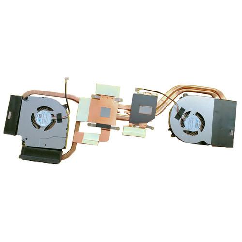 Laptop 4PIN CPU GPU FAN&Heatsink For CLEVO NH50RA NH5E 6-31-NH5E2-101 6-31-NH5E2-200 EFC-70100V1-0AH 6-31-NH5E2-202 EGC-77100V1-0AH (4 Lines)