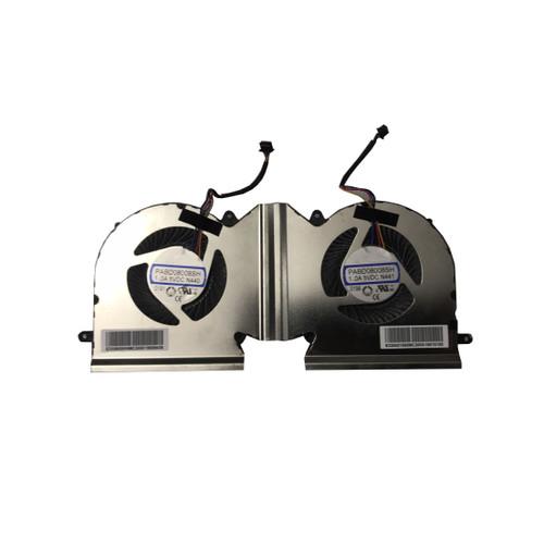 A Paire Fan Laptop CPU GPU Fan For MSI GE66 GP66 GL66 PABD08008SH N440 E330800930MC200K PABD08008SH N441 E330401690MC200K New
