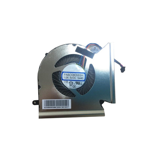 Laptop CPU Fan For MSI GE66 GP66 Leopard 10UH 10UG 11UG 11UE GE66 Raider 10SGS 10SFS 10SF 10UH 10UG 10UE 11UH 11UG 1.0A 5VDC