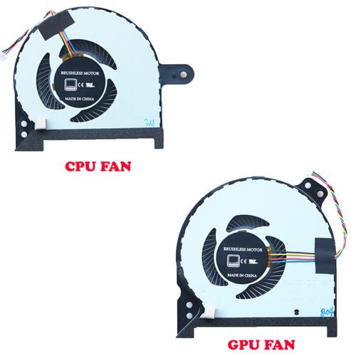 Laptop GTX1060TI CPU GPU FAN For Gigabyte SabrePro 15 / SabrePro 15-W8 / SabrePro 15 GTX1060TI