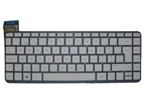 Laptop Keyboard For HP 13-C001LA 13-C002DX 13-C010NR 13-C020NR 13-C021CY 13-C022CY 13-C022TU 13-C023TU 13-C024TU 13-C025TU 13-C027TU 13-C030TU Without Frame White Switzerland SW