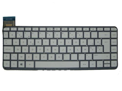 Laptop Keyboard For HP 13-C031TU 13-C032TU 13-C033TU 13-C034TU 13-C035TU 13-C036TU 13-C039TU 13-C040TU 13-C041TU 13-C042TU 13-C043TU 13-C044TU 13-C077NR 13-C078NR Without Frame White Belgium BE