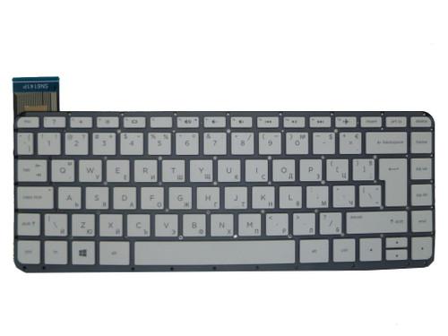 Laptop Keyboard For HP 13-C031TU 13-C032TU 13-C033TU 13-C034TU 13-C035TU 13-C036TU 13-C039TU 13-C040TU 13-C041TU 13-C042TU 13-C043TU 13-C044TU 13-C077NR 13-C078NR Without Frame White Bulgaria BG