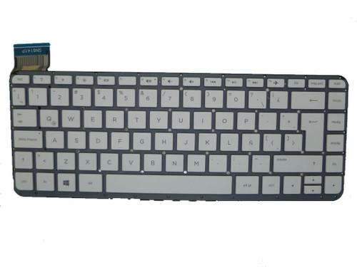 Laptop Keyboard For HP 13-C001LA 13-C002DX 13-C010NR 13-C020NR 13-C021CY 13-C022CY 13-C022TU 13-C023TU 13-C024TU 13-C025TU 13-C027TU 13-C030TU Without Frame White Latin America LA
