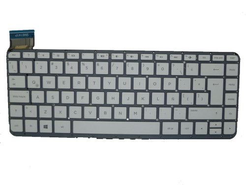 Laptop Keyboard For HP 13-C031TU 13-C032TU 13-C033TU 13-C034TU 13-C035TU 13-C036TU 13-C039TU 13-C040TU 13-C041TU 13-C042TU 13-C043TU 13-C044TU 13-C077NR 13-C078NR Without Frame White Latin America LA