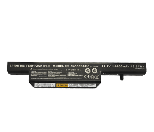 Laptop Battery For Nexoc M506 4400mAh 48.84 Wh 11 1Volt 6 Zellen