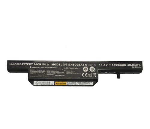 Laptop Battery For Nexoc M720 4400mAh 48.84 Wh 11 1Volt 6 Zellen