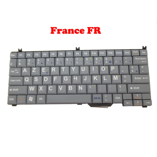 New Keyboard For SIEMENS For ACUSON NX2 NX2 ELITE NX3 France FR Grey