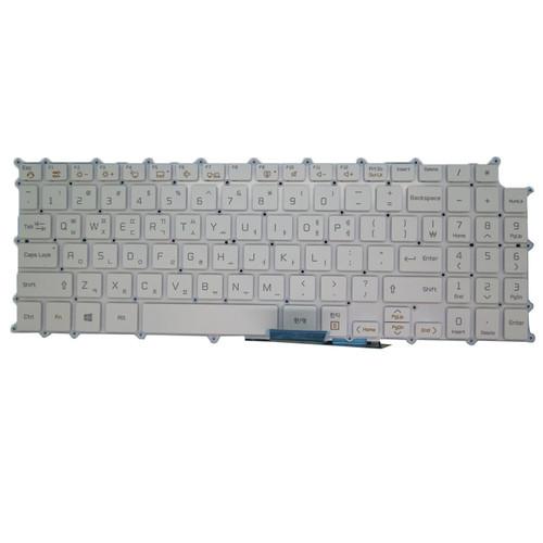 Laptop KR Keyboard For LG 15Z90N AEW74029841 18B9B White Korean KR NO Frame