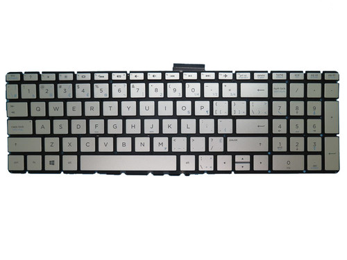 Laptop Keyboard For HP 17-AK000 silver with backlight Without Frame Canada CA France FR 919794-051