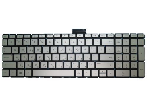 Laptop Keyboard For HP 17-AK000 silver No Backlit Film Without Frame Hebrew HB 919794-BB1