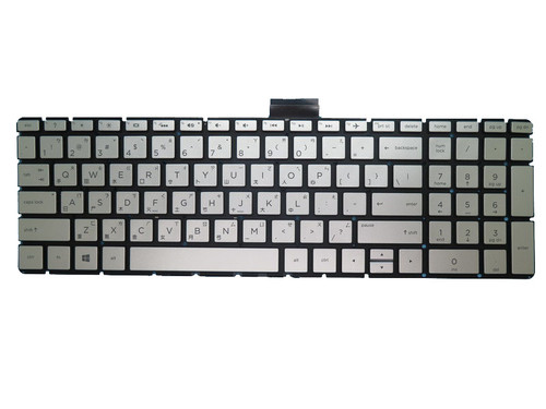 Laptop Keyboard For HP 17-AK000 silver with backlight Without Frame Traditional Chinese TW 919794-AB1