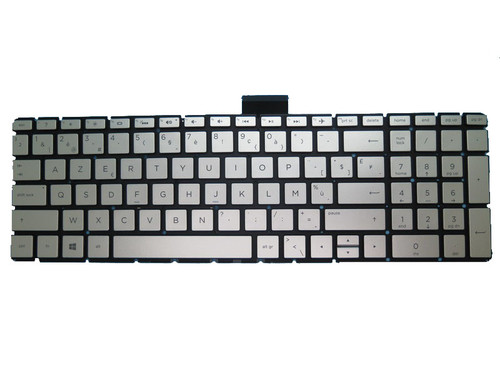 Laptop Keyboard For HP 17-BS000 silver with backlight Without Frame Belgium BE