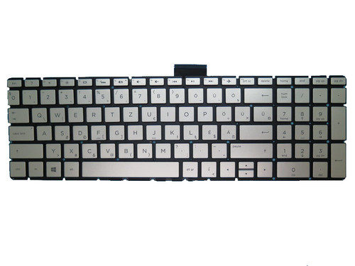 Laptop Keyboard For HP 250 G6 255 G6 256 G6 silver with backlight Without Frame Hungary HU