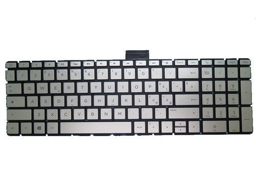 Laptop Keyboard For HP 250 G6 255 G6 256 G6 silver with backlight Without Frame Italian IT