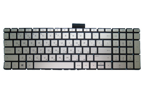 Laptop Keyboard For HP 250 G6 255 G6 256 G6 silver with backlight Without Frame Russian RU
