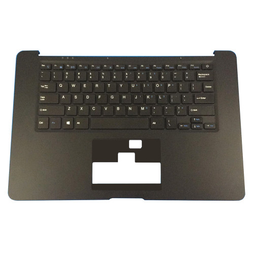 Laptop PalmRest&keyboard For HOMETECH HT-BOOK 14A Black C shell With United States US Black keyboard