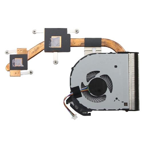 Laptop CPU FAN&Heatsink For Lenovo V110-14 V110-15 V110-14AST V110-15AST 5H40L80170 DFS531005PL0T Thermal Module 80TD DIS New