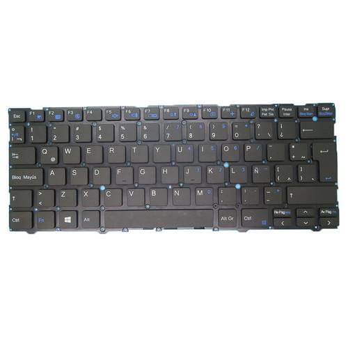 Laptop NO Backlit Keyboard For CLEVO L140CU L141CU L140MU L141MU Latin America LA NO Frame