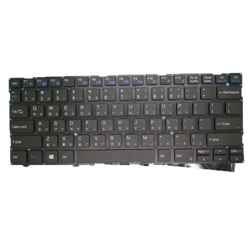 Laptop NO Backlit Keyboard For CLEVO L140CU L141CU L140MU L141MU Traditional Chinese TW NO Frame