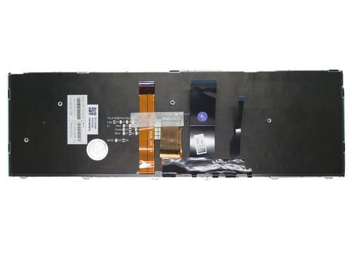 (Lack of key caps) Laptop Colourful Backlit Keyboard For CLEVO PA70 CVM17L23USJ4301 6-80-PA7E0-012-1 English Black Frame