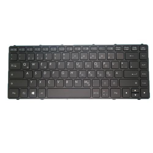 Laptop GR Translucent Keyboard For Getac V138418CS2 53108821W001 German GR With Black Frame 95% New