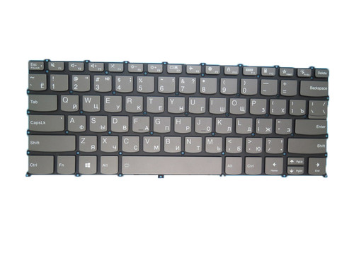 Laotop Keyboard For Lenovo Ideapad Yoga Slim 7 Pro-14ITL5 Russia RU With Backlit Gray New