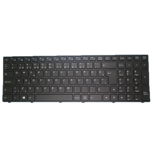 Laptop With Backlit Keyboard For CLEVO N250 N250JU N250LU N251JU N251LU N250PU N251PU N252PU Estonia EST With Black Frame