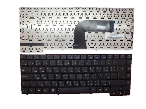 Laptop Keyboard For ASUS PRO55C PRO55GL PRO55N PRO55R PRO55RL PRO55SL PRO55SR PRO55V PRO55VL PRO55Z Black AR Arabia