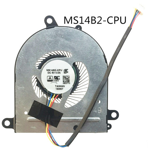 Laptop CPU GPU FAN For MSI PS42 MS-14B1 MS-14B2 PS42 8RA 8RB 8RC 8M 8MO PE42 MS14B1 MS14B2 CPU GPU