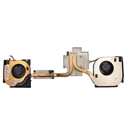 Laptop Fan and Heatsink For Lenovo ThinkPad P53 (Type 20QN, 20QQ) 02DM016 02DM017 New