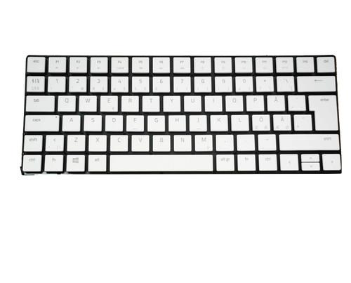 Laptop Keyboard For RAZER Blade RZ09-0330 Nordic NE White Without Frame