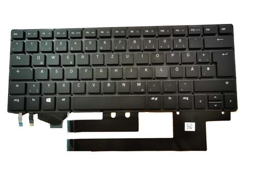 Laptop Keyboard For RAZER Blade 11624765-00 2B-BAM08B200 911100080300 German GR Black Without Frame